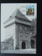 Carte Maximum Card Porte Des Bons Malades Vauban Luxembourg 1986 - Maximum Cards