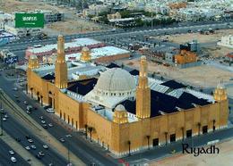 Saudi Arabia Riyadh Al Rajhi Grand Mosque New Postcard Saudi Arabien AK - Saudi-Arabien