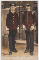 Ile De Jersey Channel-island Infantery Tenue De Sortie  ( Pas Courant) - Postales