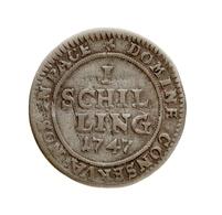 Schweiz: ZÜRICH (Stadt); 1747, 1 Schilling In Schöner Bis Sehr Schöner Erhaltung. - Schweiz