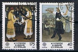 Cyprus Y/T 542 / 543 (0) - Oblitérés