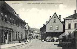 Cp Erfurt In Thüringen, Untere Johannesstraße Zwischen Waldgasse Und Kohlgrube - Sonstige