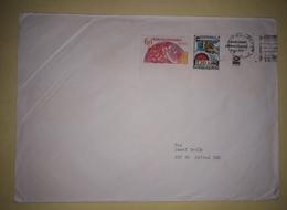 Letter - Stamp Praga 1978 / SSSR-FRance / Postmark Gottwaldov, 1990., Czechoslovakia - Sin Clasificación