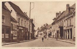 28 /  Brou   :  Rue De La Chevalerie        ////   JANV. 20 ///  BO. 28 - Francia