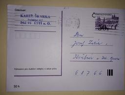 Carte Postale - 1990., Czechoslovakia - Sin Clasificación