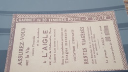 LOT 488715 TIMBRE DE FRANCE NEUF** LUXE CARNET COMPLET N°257A RARE - Autres