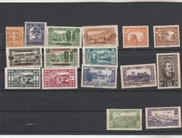 Grand Liban Lot Collection 16 Timbres TOUS ETATS  - 2 Scan - Gross-Libanon (1924-1945)