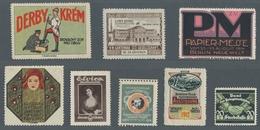 Vignetten: 1900-1935 (ca.), Partie Von über 130 Vignetten Mit U.a. Vielen Ausstellungs- Und Werbevig - Vignetten (Erinnophilie)