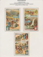 Vignetten: AFGHANISTAN, 1880-1956 (ca.), Schöne Und Nostalgische Sammlung Von 36 Sammelbildern Und W - Vignetten (Erinnophilie)