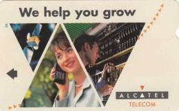 UZBEKISTAN(Alcatel) - We Help You Grow, Test Card 50 Units, Mint - Uzbekistan