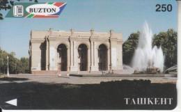 UZBEKISTAN(GPT) - Tashkent(glossy Surface), Buzton Telecard, First Issue 250 Units, CN : 3UZBA, Tirage %5000, Used - Uzbekistan