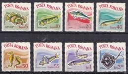 ROMANIA 1964 MNH** - Pesci