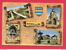 CPSM (Réf : X630) 5.004 A MONTREUIL-SUR-MER (62 PAS-de-CALAIS) MULTI VUES - Montreuil