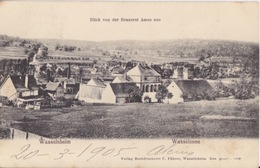 CP Brasserie Amos à Wasselone Obl. Wasselheim *** (T148) Le 21/3/05 Sur 5pf Germania (imprimé étranger) Pour La France - Cervezas
