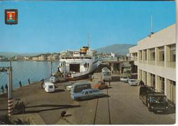 ALGECIRAS - Entrada De Vehiculos  Al Transborador Autobus,automobiles - Unclassified