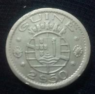 Guiné Bissau- 2,50 Escudos - 1952 - KM 9 ، Perfect , Agouz - Guinea Bissau