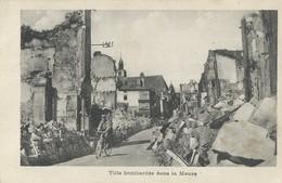 Non Localisée     Ville Bombardée - Francia
