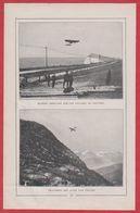 Les Héros De L'aviation Française. R Garros, Brindejonc-des-Moulinais, Blériot, Chavez ... Début XXe Siècle. - Documents Historiques
