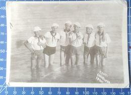 B&W Amateur Photo Scout Boy Garcon Swim Summer  0420 - Anonymous Persons