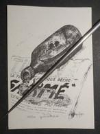 """Paquebot """" France """" Carte Postale Illustrée """" Christian Affagard - Le Gâchis - Exemplaire Numéroté 31 / 500 - TBE - - Paquebote"""