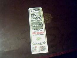étiquette Alcool De Figue Boukha L'oasis Fabriqué Par MM BOKOBSA à La Soukra TUNISIE - Altri