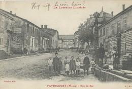 Vavincourt  Rue De Bar - Autres Communes