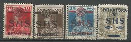 YU 1919-84-7 DEFINITIVE, YUGOSLAVIA, 1 X 4v, Used & MH - Used Stamps