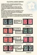 LIBERATION:  FAUX DE L'INTELLIGENCE SERVICE 1M 2M 3I 5 6 7 10 11 VRAIS/FAUX COTE PM: 417E - Liberación
