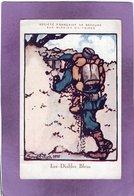 Guerre 14 18 Société Française De Secours Aux Blessés Militaires Illustrée Par BRUYER En 1915 , Les Diables Bleus - Guerre 1914-18