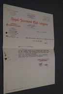 Club De Football Wallonia Namur,lettre Du Standard Club Liegeois Du 9/11/1944,Standard De Liège,unique Document,RARE - Football