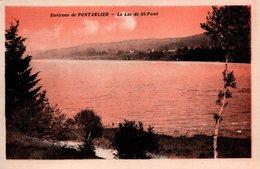 T6 - CP DOUBS - Lot 2 Cartes Environs De Pontarlier - Le Lac De Saint Point - Pontarlier