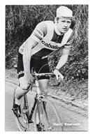 CARTE CYCLISME HARRIJ STEVENS SIGNEE TEAM CABALLERO 1970 - Cyclisme