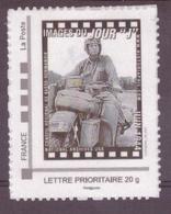 Timbre Adhésif Personnalisé Neuf Mon Timbre à Moi MTAM Philaposte Images Du Jour J Juin 1944 - Francia