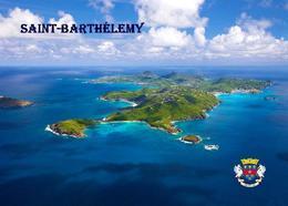 Saint Barthelemy Aerial View New Postcard - Antilles