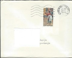"""1976 Denmark Letter Via Yugoslavia - 1976 International Stamps Exhibition """"HAFNIA '76"""" - Copenhagen - Denmark"""
