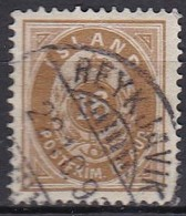 IS001 – ISLANDE – ICELAND – 1876 – NUMERAL VALUE IN AUR - PERF. 14X13,5 - SC # 12 USED 58 € - Oblitérés