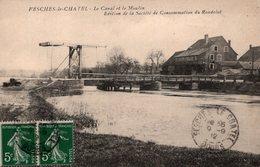 T6 - CP DOUBS - FESCHES LE CHATEL - LE CANAL ET LE MOULIN - Other Municipalities