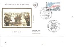 Guerre 40/45 - Débarquement De Normandie ( Commémoratif Sur Soie De France De 1994 à Voir) - Guerre Mondiale (Seconde)