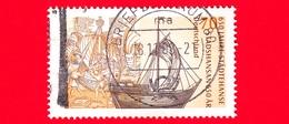 GERMANIA - Usato - 2006 -  650 Anniversario Della Lega Anseatica - Nave E Manoscritto - 70 - Usati