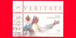 GERMANIA - Usato - 2007 - 80 Compleanno Di Papa Benedetto XVI - Ritratto - 55 - Usati