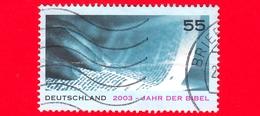 GERMANIA - Usato - 2003 - Anno Della Bibbia - 55 C - Usati
