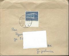 1970 Denmark Bagsvard Letter Via Yugoslavia - 1969 EUROPA Stamps - The 10th Anniversary Of CEPT - Denmark