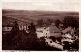 T6 - CP DOUBS - FRASNE - PLACE DE LA GARE - Frankrijk