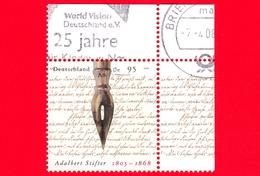 GERMANIA - Usato - 2005 - 200 Anni Della Nascita Adalbert Stifter, Scrittore - Pennino Di Stilografica - 95 - Usati