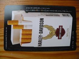 Phonecard Japan 110-011 Harley Davidson Cigarette - Giappone