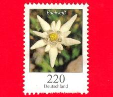GERMANIA - Usato - 2006 - Fiori - Flowers - Edelweiss - Leontopodium Nivale - 220 C - Usati