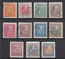 IC008 – ISLANDE – ICELAND – 1902/04 – KING CHRISTIAN IX - MI # 33/45 USED 76 € - Usados