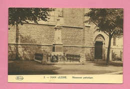 C.P. Han-sur-Lesse =  Monument  Patriotique  1914-1918  Et  1940 - 1945 - Rochefort