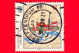 GERMANIA - Usato - 2006 -  1200 Anni Della Città Di Ingolstadt - Antica Cartina - 55 - Usati