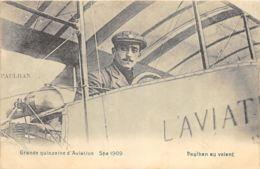 Spa - Grande Quinzaine D'Aviation - 1909 - Paulhan Au Volant - Spa
